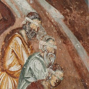 St. Nicholas Saves Three Men from Death, detail