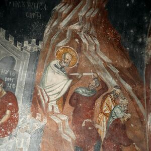 St. Nicholas Saves Three Men from Death