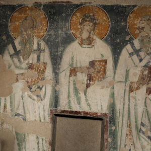 St. Sophronios of Jerusalem, St. Mokios of Amphipolis and St. Clement of Rome