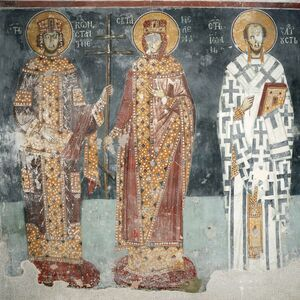 St. Constantine and St. Helena and St. John the Chrysostom