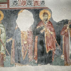 St. Demetrios, St. George, St.Theodore Theron and St. Theodore Stratelates