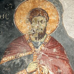 St. Theodore Teron, detail