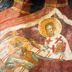 12 St. Nicholas Appears in a Dream to the Emperor Constantine