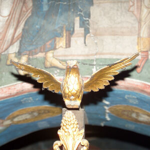 Ornamental Eagle on the Iconostasis