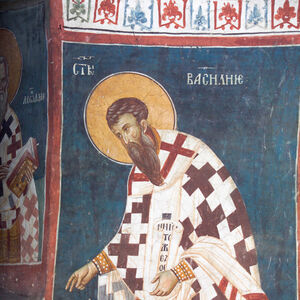 22 St. Basil the Great (Officiating Church Fathers)