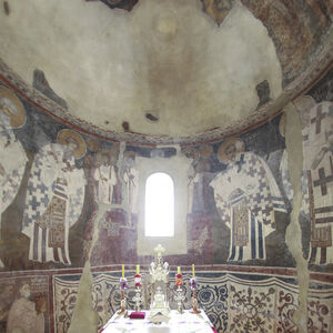 View of the apse