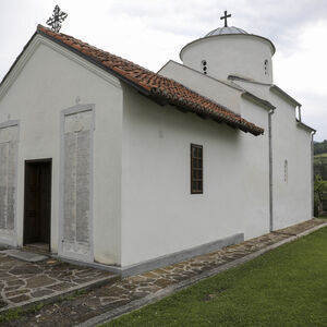 Southwest view of the church