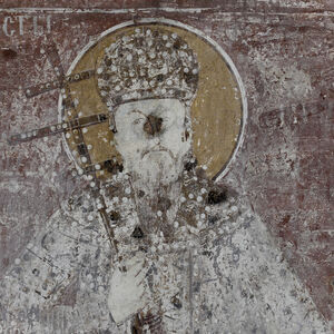 St. Milutin, King of Serbia