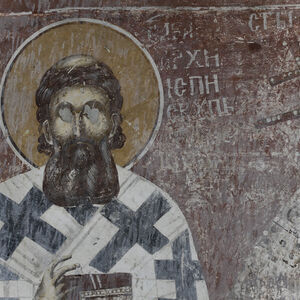 St.Sava of Serbia, detail