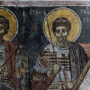 St. Theodore Stratelates and St. Theodore Tyro
