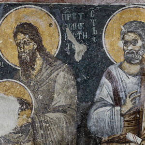 St. John the Baptist (Kephalophoros) and St. Peter the Apostle