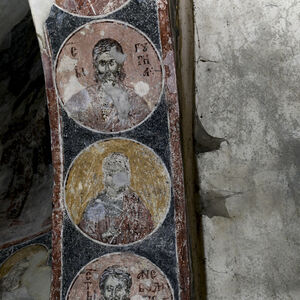 Busts of Holy Martyrs in the medallions