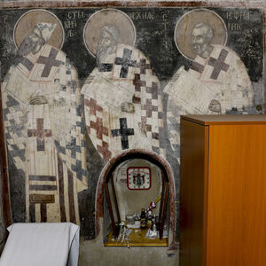 St. Cyril of Alexandria, St. Achilleos and St. Epiphanius