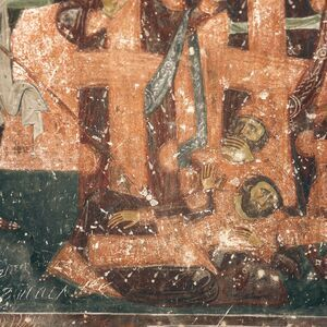 The Last Judgement, detail, between 1234 and 1236