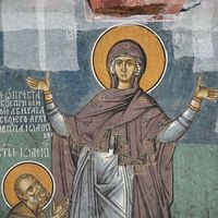 Holy Mother of God and St. Ioaniccius