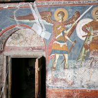Archangel Gabriel and St. Mercurius