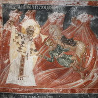 St. Nicholas punishes Polovets