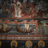 St. Nicholas saves the city of Myra from famine