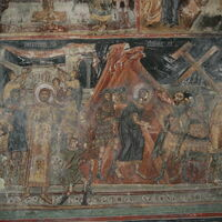 Mocking and Christ Being Led to the Crucifixion