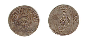 Coin - Dinar mid-16th - Dubrovnik