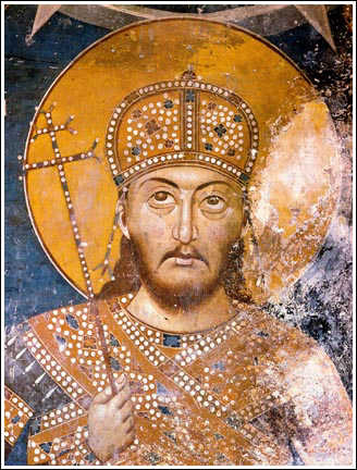 Stefan Uros IV Dusan (1331-1355) | Rulers | Serbian Medieval ...