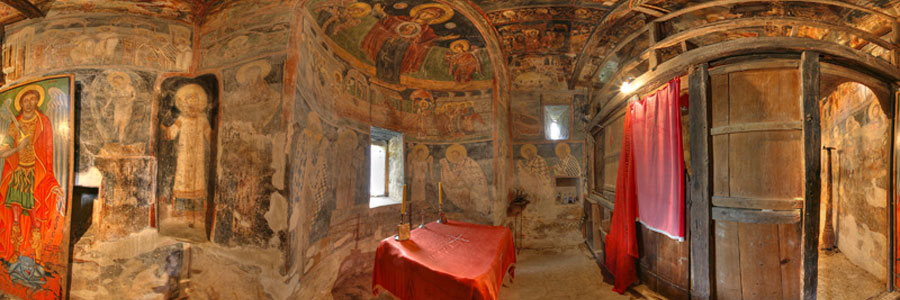 Church of St Nicholas, Velika Hoca, Kosovo & Metohija
